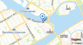 Санкт-Петербургское психологическое общество на карте