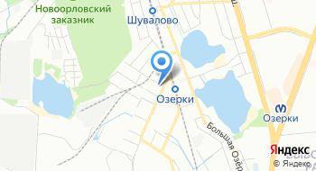 Ресторан Коломяжский визит на карте