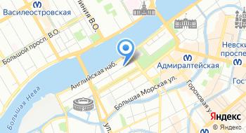 СПб ГАУ центр занятости населения на карте