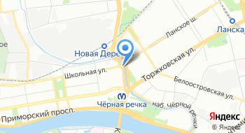 Инструментальная компания № 1 Черная речка на карте