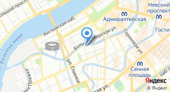 Главное Следственное управление Следственного Комитета РФ по Санкт-Петербургу на карте