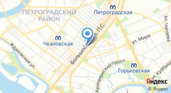 Интернет-кафе Пять и Три на карте