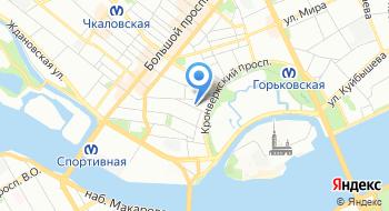 Санкт-Петербургский базовый фармацевтический техникум на карте