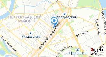 Налоговая инспекция Петроградского района № 25 на карте