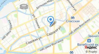 Следственный отдел по Адмиралтейскому району Главного следственного управления следственного комитета России по городу Санкт-Петербургу на карте