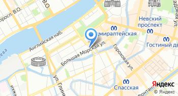 Прокуратура Санкт-Петербурга на карте