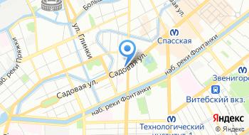 Отель Лион на карте