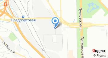 Элеватор Предпортовый на карте