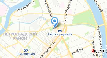 Текра-комплекс на карте