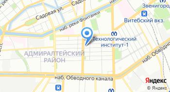 Санкт-петербургский Государственный Детский Драматический театр на Неве на карте