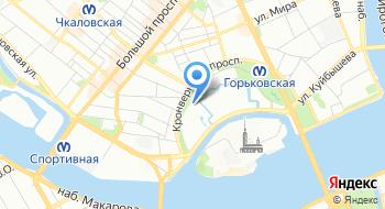 Ленинградский зоологический парк на карте