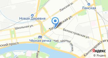 Петербургский Строительный центр на карте