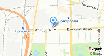 Автосервис на Благодатной на карте