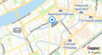 Санкт-Петербургская избирательная комиссия на карте