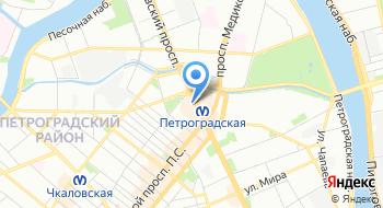 Сервисный центр Петроградский на карте