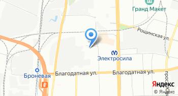 Филиал Санкт-Петербургское управление по организации общественного питания Газпром Питание на карте