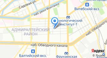 Управляющая компания Петербургский дом на карте