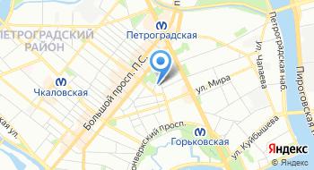 Магазин-салон тканей Linobalt.ru на карте