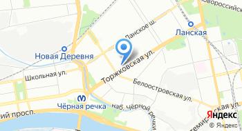 Северо-Западный институт повышения квалификации ФНС России на карте