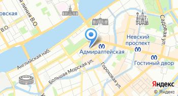 Информационная служба на карте