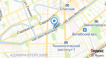 Санкт-Петербургский молодежный театр на Фонтанке на карте