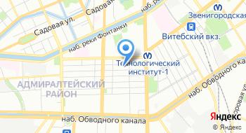 ОБ ДПС № 1 ГИБДД ГУ МВД России по СПб и Ло на карте