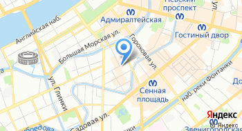 Этуаль на карте