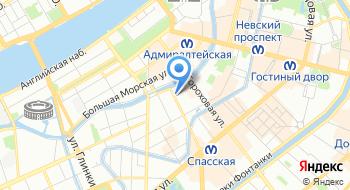 Московская биржа Северо-Западный филиал на карте
