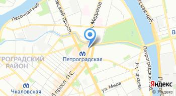 Ассоциация бухгалтеров Санкт-Петербург на карте