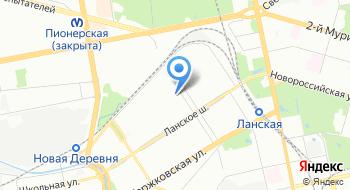 Гбоу школа-интернат № 357 Олимпийские надежды Приморского района Дошкольное отделение на карте