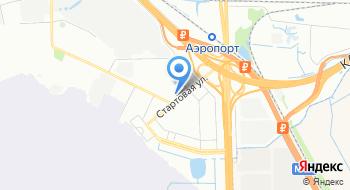Пулковская таможня на карте