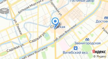 Штамп сервис на карте