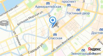 Информационное агентство Крединформ Северо-Запад на карте