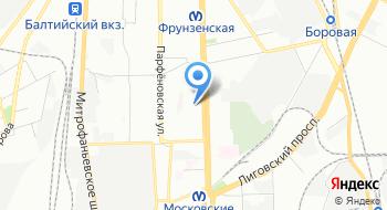 СПБ Контур на карте