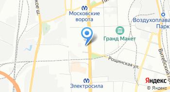 Отдел социальной защиты населения Администрации Московского района Санкт-Петербурга на карте