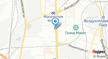 СПб Гбук КукольныЙ театр Сказки на карте