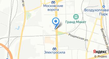 Отдел образования Администрации Московского района Санкт-Петербурга на карте