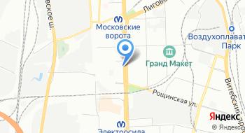 Кибус на карте