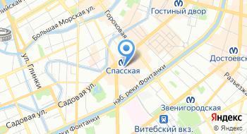 Медицинский центр на Сенной на карте