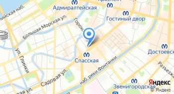 Эксклюзивное представительство Ассоциации Isic в России в Санкт-Петербурге на карте