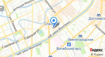 Сенной рынок на карте