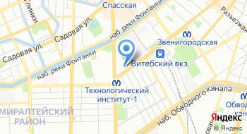Стеклодувная мастерская Пирекс на карте