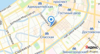 ТК Пулковские высоты на карте