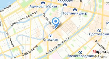 Российский центр родословия на карте