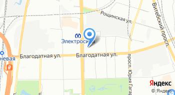 Еврейский общинный центр Хабад на Московском на карте