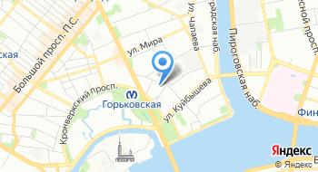 Танцевальная школа Танцпол на карте