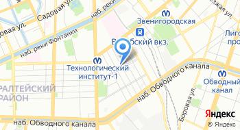 Плезир на карте