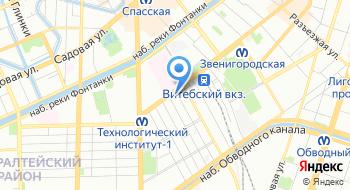 Отдел образования Администрации Адмиралтейского района г. Санкт-Петербурга на карте