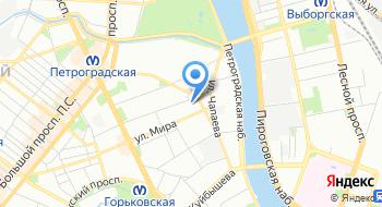 Прокуратура петроградского района на карте