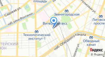 Торговая компания КНС Нева на карте